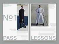 №1 animation video typography minimal photo fashion slide book design news web interface