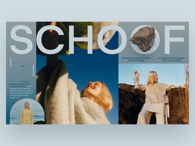 Rock video typography minimal photo fashion slide book design news web interface