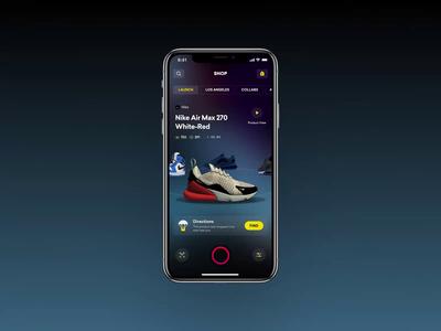 Maps Shopping animation video apple app shopify shop shopping fashion interface 3d mobile maps