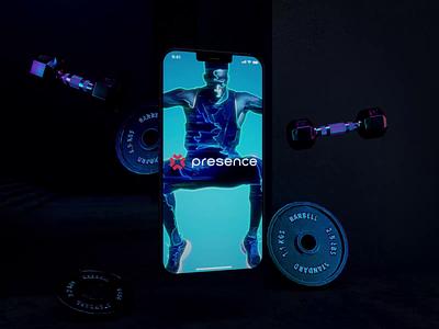 Presence 3d video login sport fitness iphone apps app ios app ios interface