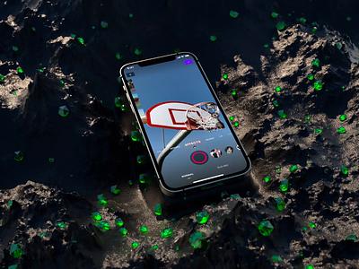 Camera publication social product store app editing editor video nba basketball sport iphone ios interface