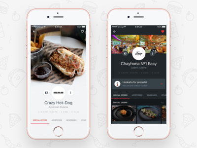 Foodberry Restaurant Page