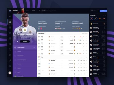 Stavki Player Page