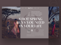 Typeface Hot Spring