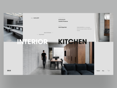 SOLID Kitchen slider web products minimal solid furniture explore