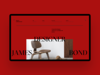 Luxshop James Designer  Bond