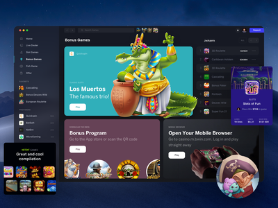 Casino Designs Themes Templates And Downloadable Graphic Elements On Dribbble