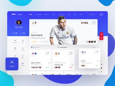 bwin social post betting bet bookmaker sport footbal tips dashbaord ui interface