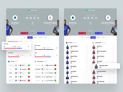 bwin dashbaord minimal bets design news bookmaker betting bet sport app football sport interface