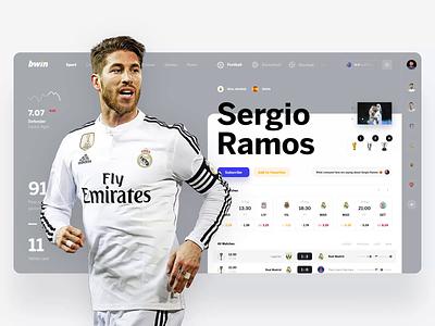 bwin news web design interface ui tips sport betting bet bookmaker dashbaord footbal