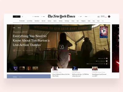 Video trailer unsplash hi-tech eat video landing page web interface news movie vr 360 degree slide design book fashion