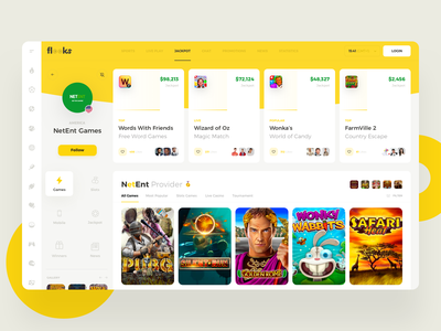 Flooks Jackpot spins slots odds bitcoin ui sport game betting bet casino web interface