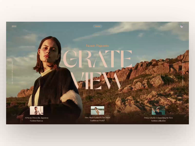 Shamel animation video ui  ux typography photo fashion slide book design news interface web