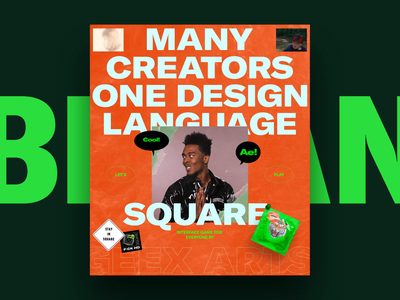 SQUARE Interface game fun competition play game square