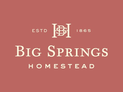 Big Springs Homestead Logo