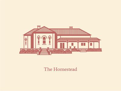 Big Springs Homestead - Illustration