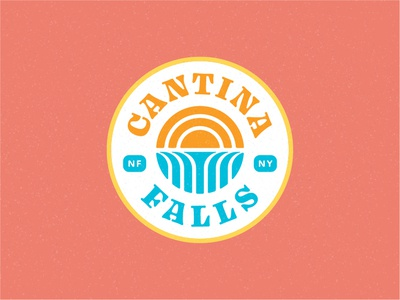 Cantina Falls - Badge Logo