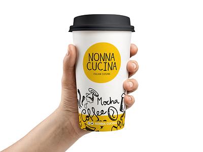 Nonna Cucina   Italian Cuisine packaging logo illustration design branding