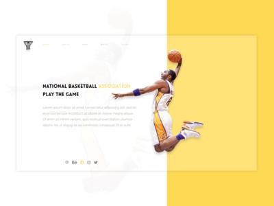 National BasketBall Association national basketball assoication branding illustration animation android app design game basketball nba xd typography vector logo adobe xd adobe uidesign design