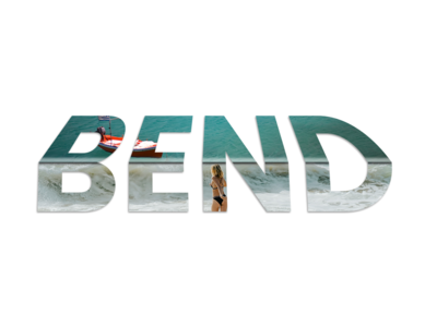 Bend Typography photoshoot sketch work art instagood digital digitalart bend photoshop art adobe design app ui pack typogrpahy typo