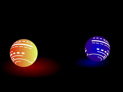 Fluro Balls - Concept Design portfolio website landingpage vibrantcolors flouroscent digital art design google adobe illustrator adobexd adobe balls colors