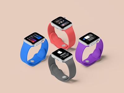 watchOS 8 Control Center Concept // Overview concept control center apple watch watch apple