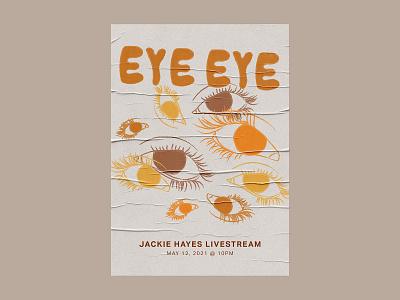eye 2 eye gig poster illustration art photoshop digital art music digital illustration design illustration graphic design