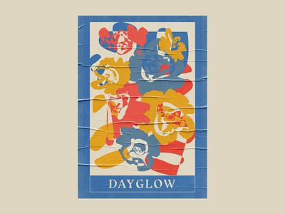 Dayglow Poster poster artwork poster design poster art poster digital art digital illustration music art illustration art gig poster music illustration design graphic design illustrator