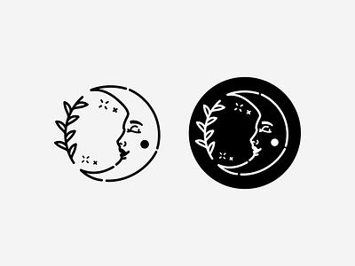 Mystic Moon Ceramics moon logo designer design logo mark branding brand identity brand design logo digital illustration illustrator graphic design logo design