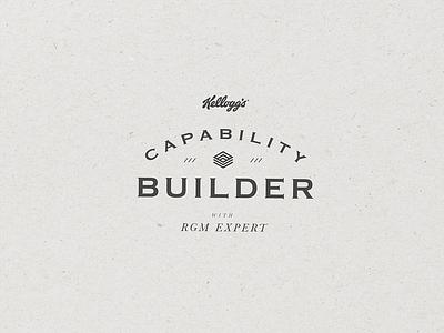 Capability Builder Branding typography branding designer branding design style guide texture illustrator graphic design design branding