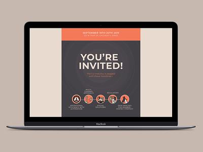 Leadership Roundtable Email Campaign corporate design corporate email marketing marketing email design design graphic design illustrator