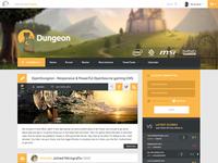 Dungeon default template WIP