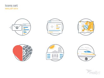 Mailjet Iconset