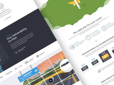 Mailjet frontend redesign
