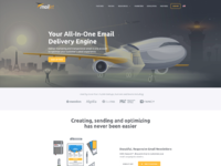Mailjet front homepage 2015