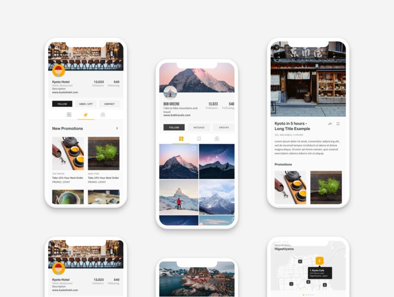 Travel Itinerary App Designs travel app travel