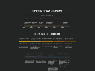 Brand and Product Roadmap