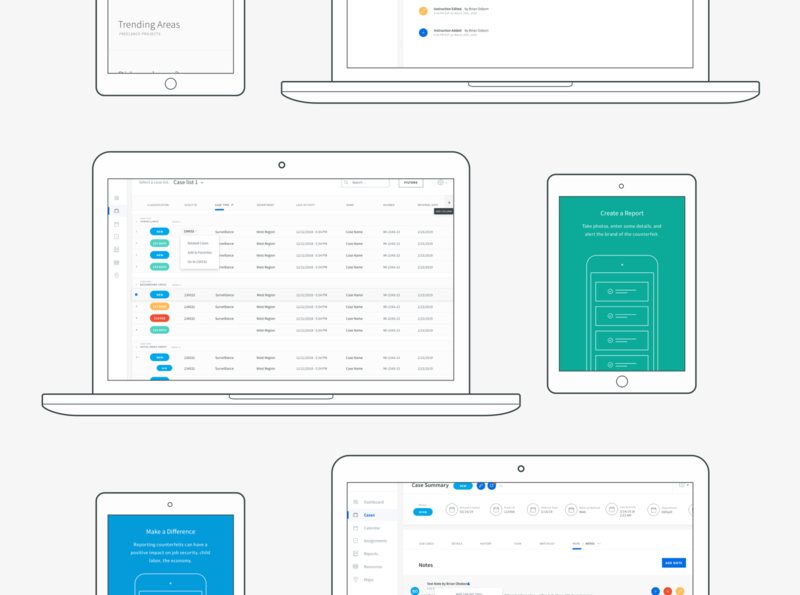 Product ID Wireframes Banner ui design