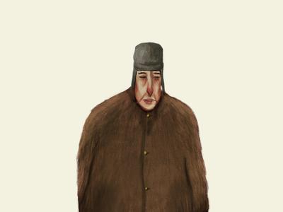 Trapper Hat Guy