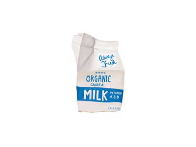 Milk Carton Illustration