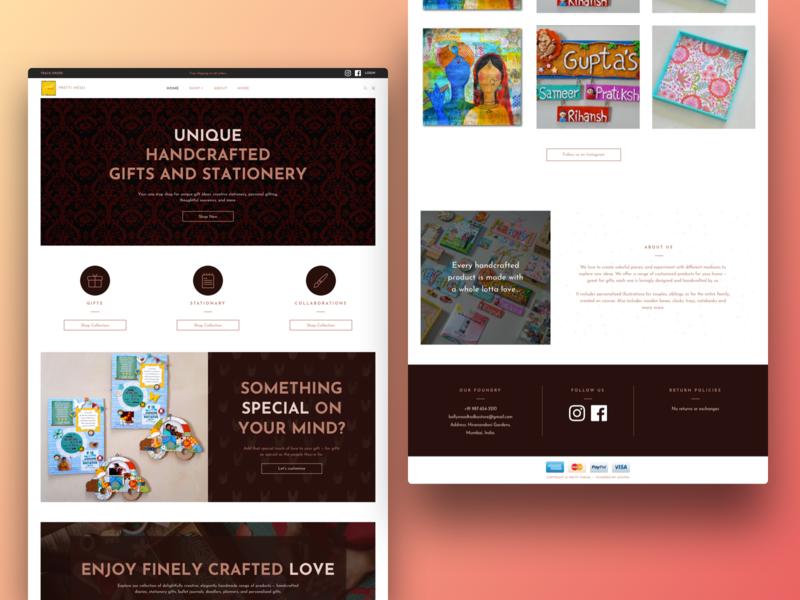 Stitch Website Theme uidesign ui  ux web design visual design craft supplies art and craft website shopify website seller website website craft ecommerce shopify