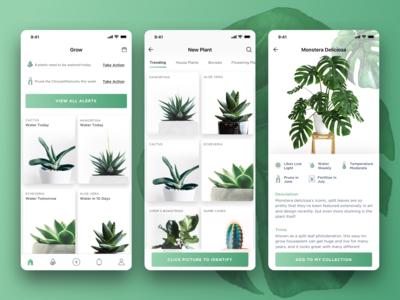 Grow iOS App