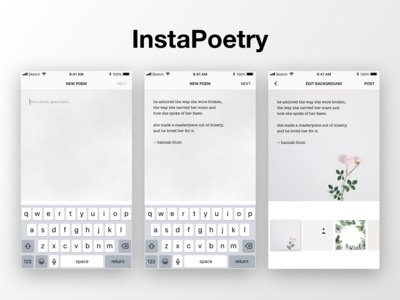 InstaPoetry  — Compose Poems for Instagram