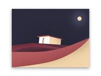 Night in Sahara