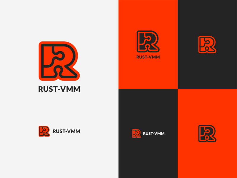 Rust-VMM Logo by James Cole on Dribbble