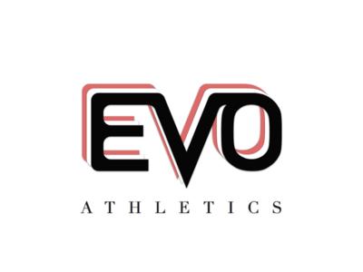 Evo Athletics Logo sports logo