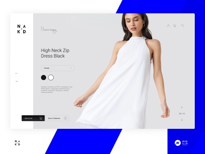 NA-KD product details exploration fashion concept exploration ecommerce visual ux site dailyui landing page landingpage page website web webdesign minimal ui visualdesign interface design interface design
