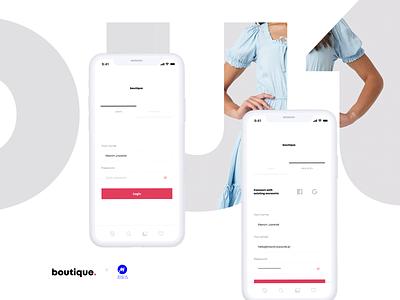 Fashion app website webdesign dailyui fashion app fashion apparel uiux app ui appuidesign application app ux page web ui minimal interface design interface visualdesign design