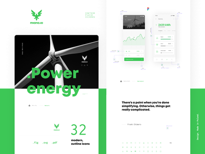 .power-energy set icon set miano energy power user interface icon design iconography apps app icon pack iconset icons icon website webdesign web interface design ui interface design