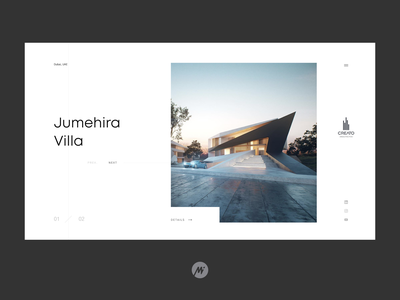 CREATO Architects figmadesign minimal website webdesign web visualdesign interface design ui interface design
